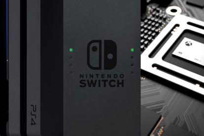 Sony PS4 Nintendo Switch Xbox Scorpio