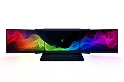 Razer three screen laptop