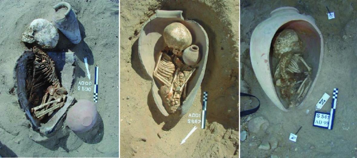 pot burials