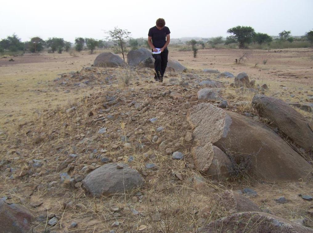 Burkina burial mounds