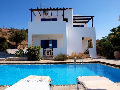 Crete Greece property villas