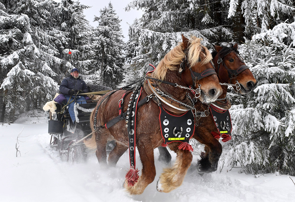 winter weather Europe