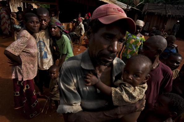 Baka people in Cameroon