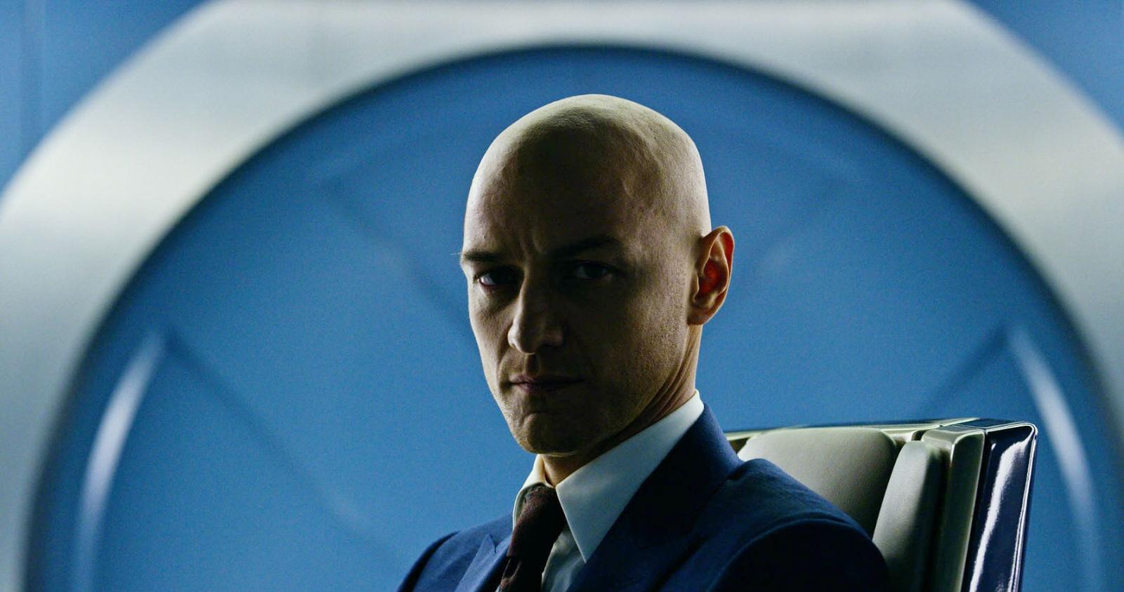 James McAvoy as Professor X