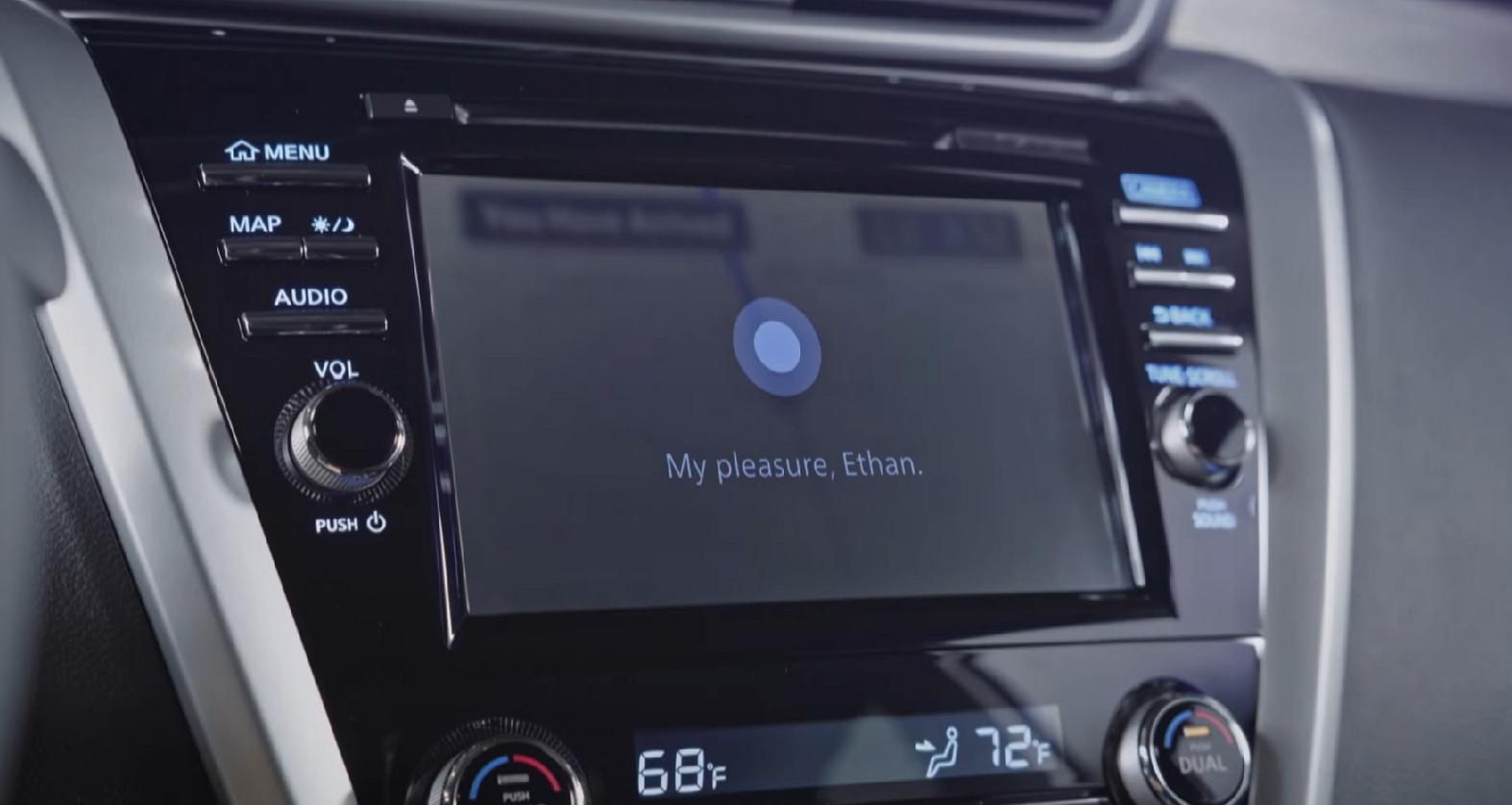 Microsoft Cortana Nissan BMW
