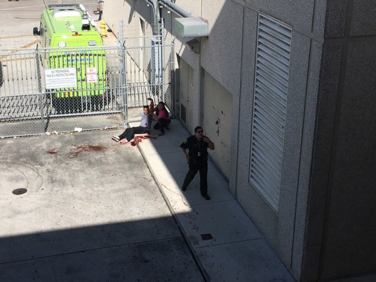 Fort Lauderdale Hollywood International shooting