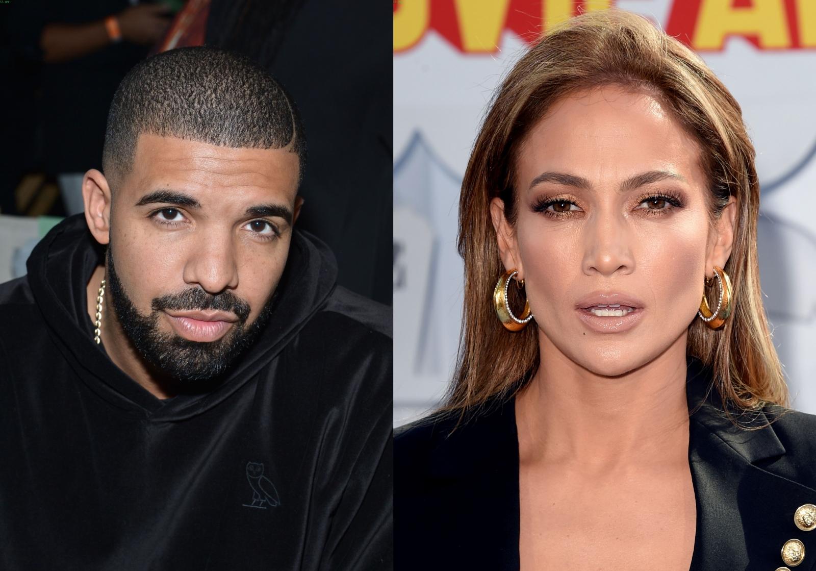 Drake and Jennifer Lopez