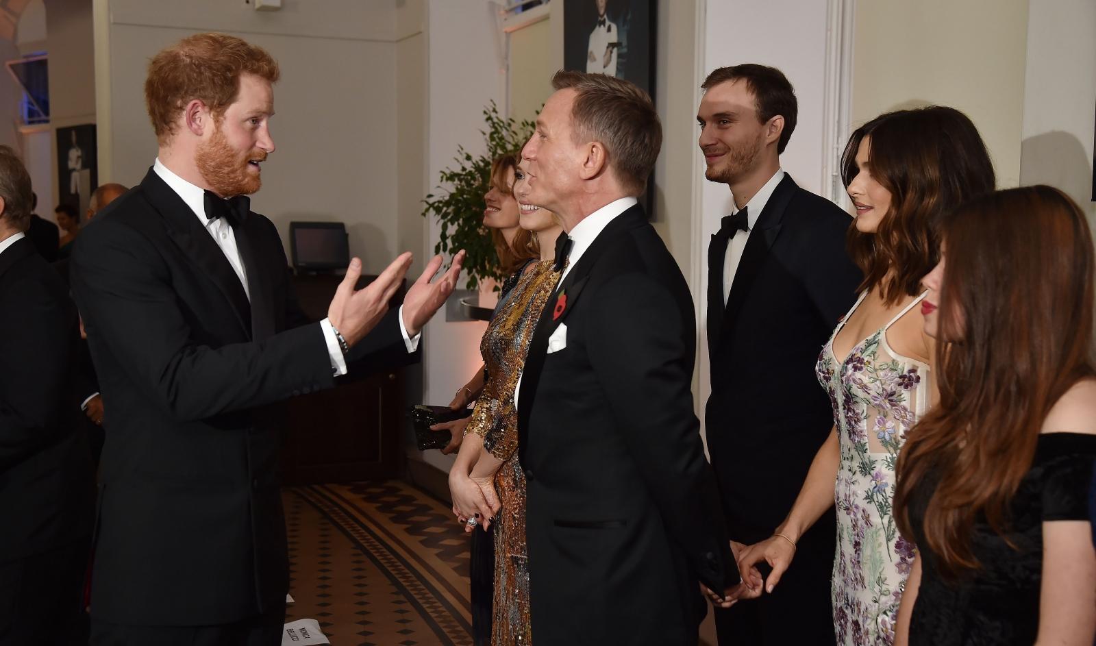 Daniel Craig Prince Harry