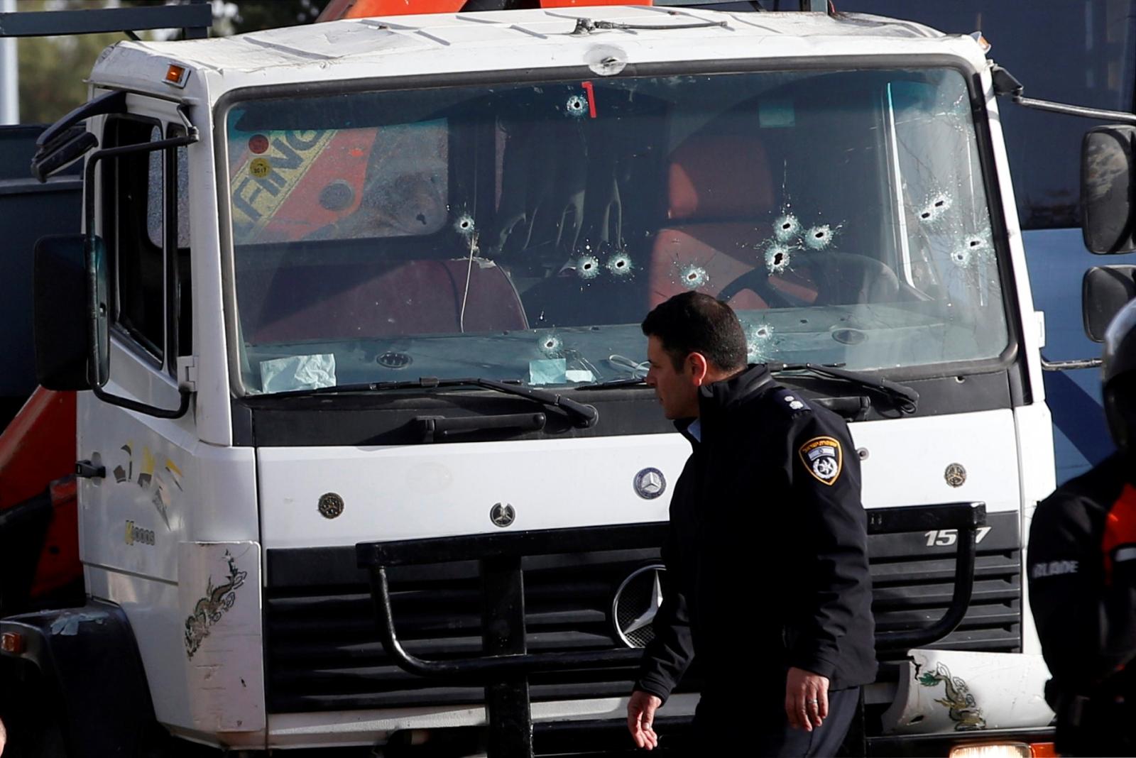 Truck-ramming incident in Jerusalem