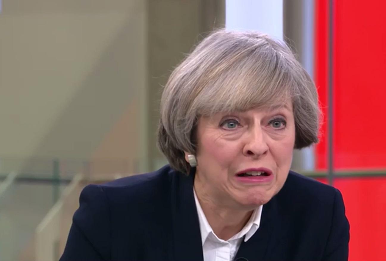 Theresa May Donald Trump