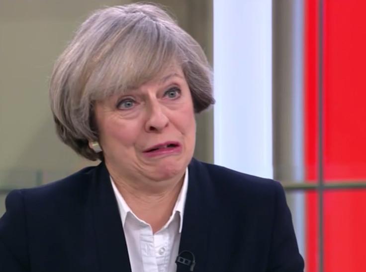 Theresa May Donald Trump3
