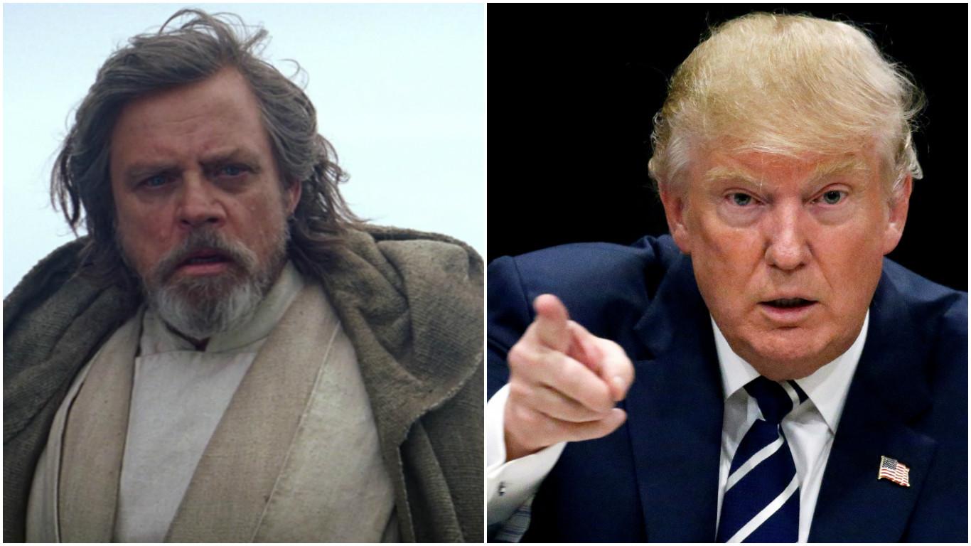 Hamill vs Trump