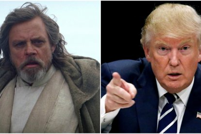 Hamill vs Trump