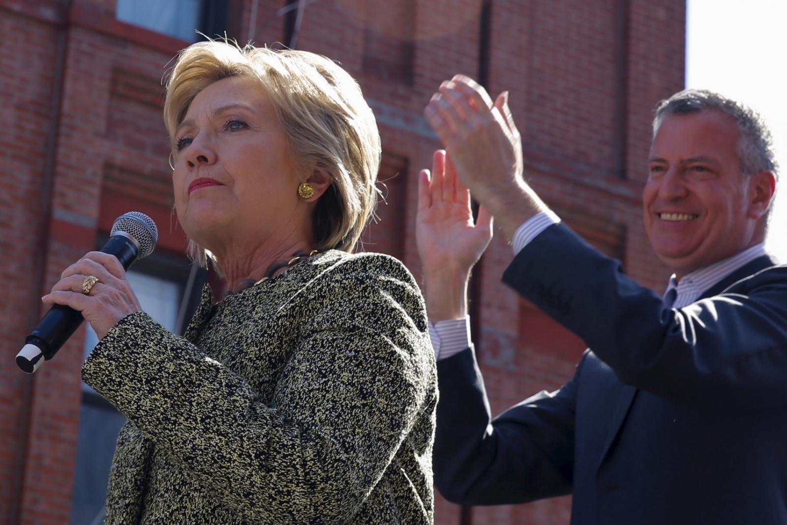 Clinton De Blasio