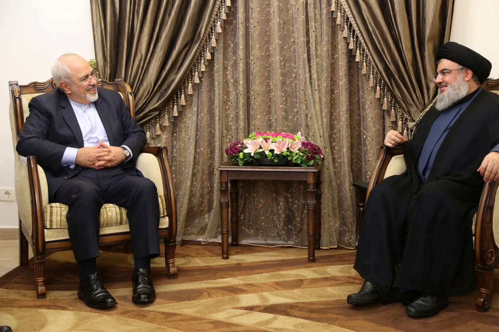 Lebanon's Hezbollah leader Sayyed Hassan Nasrallah