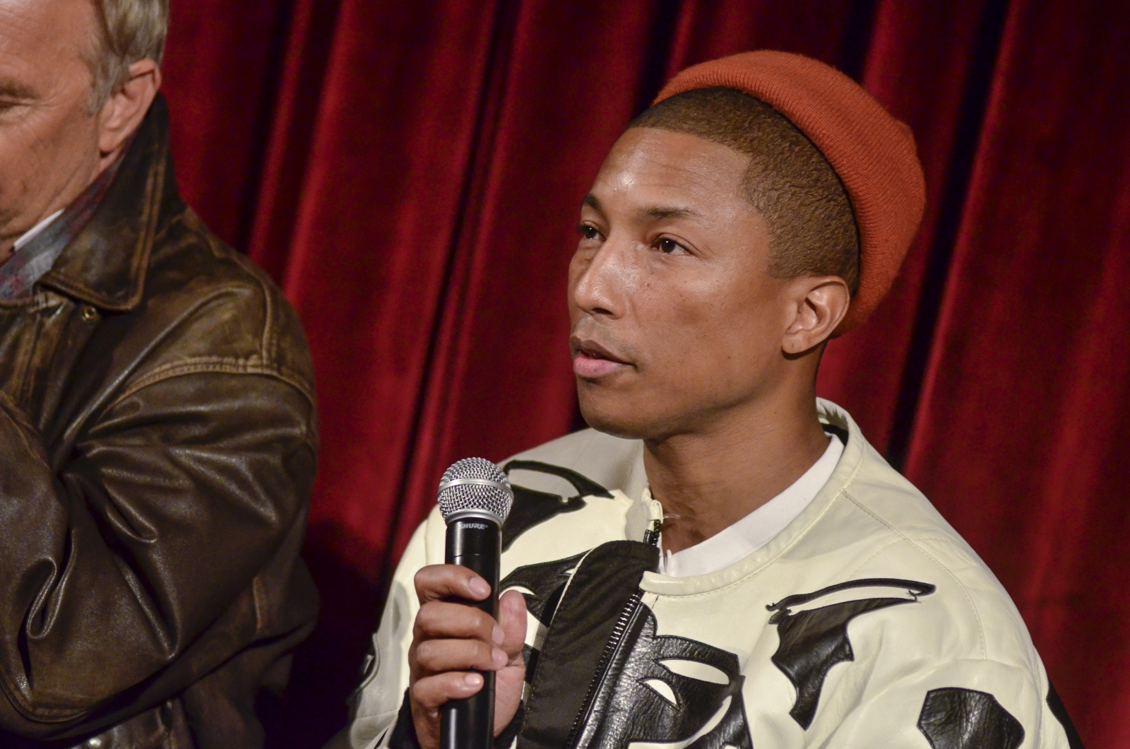 Pharrell's Reaction to Jenna Bush Confusing Hidden Figures and Fences is Priceless