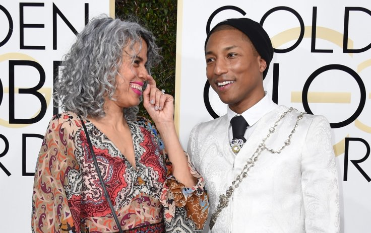 Pharrell Williams and Mimi Valdes