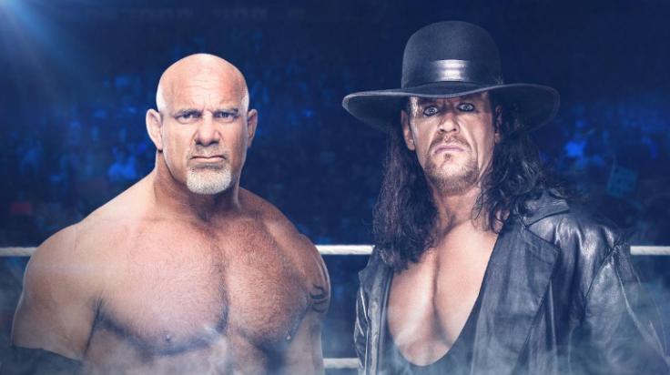 Goldberg vs The Undertaker