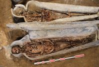 skeleton burials