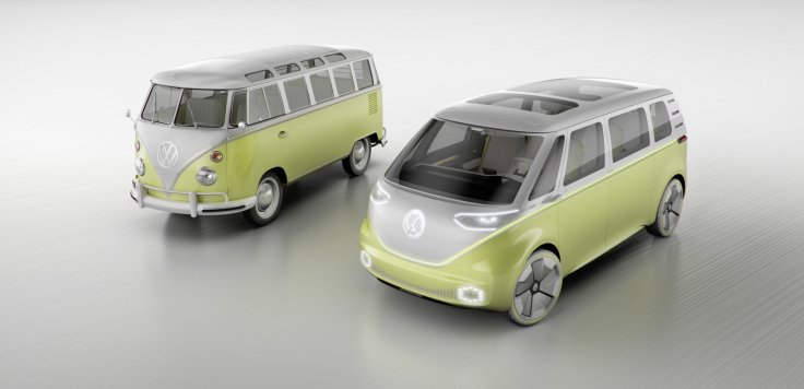 Volkswagen ID Buzz and classic