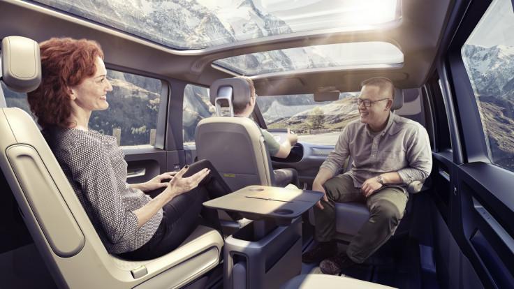 VW ID Buzz autonomous mdoe