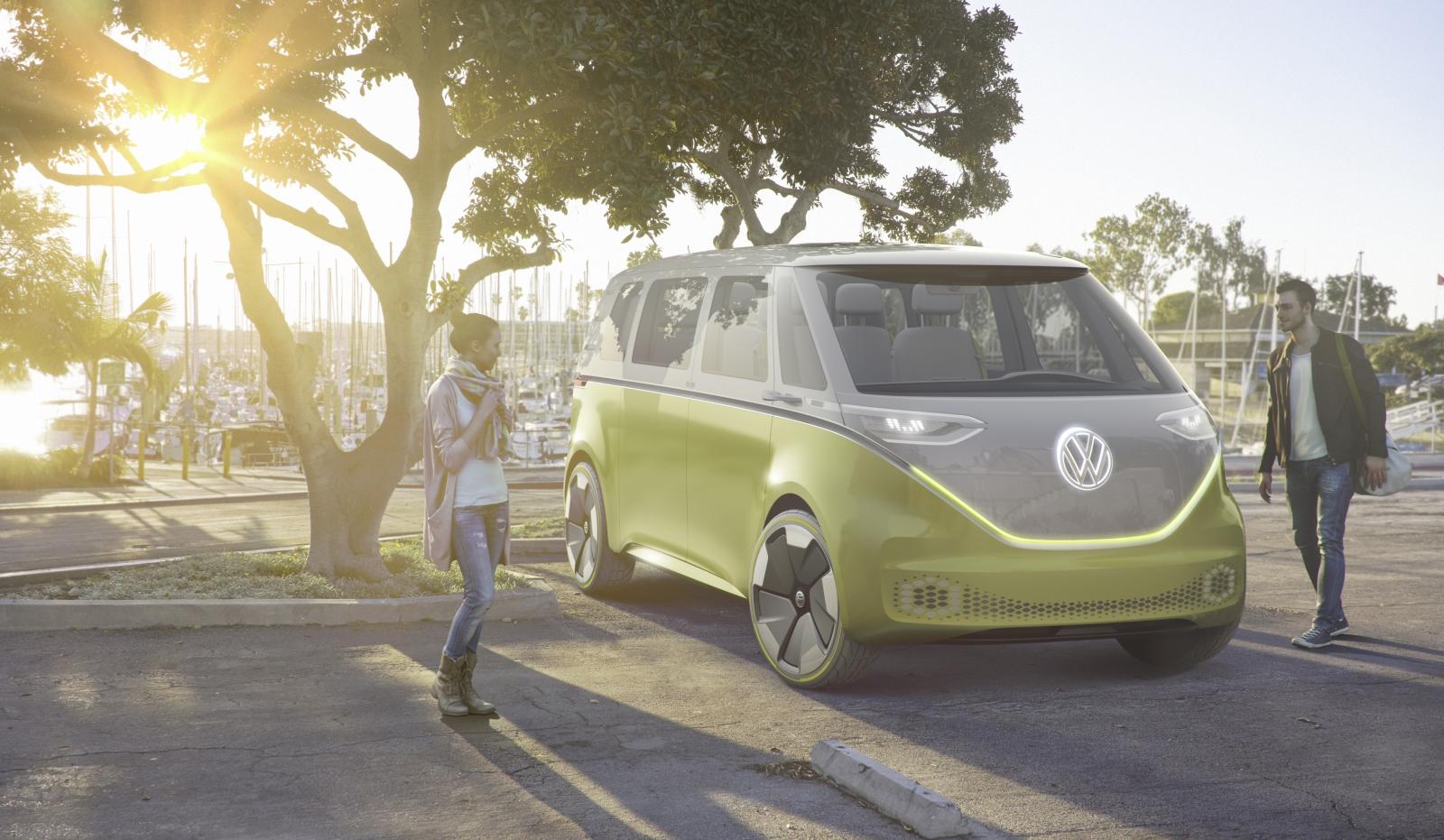 Volkswagen ID Buzz concept car