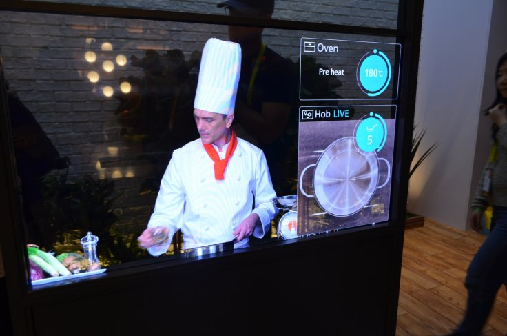 Panasonic smart kitchen CES 2017