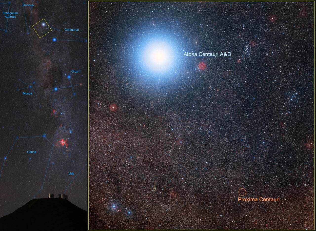 Giant Telescope to Search for Alien Life in Alpha Centauri