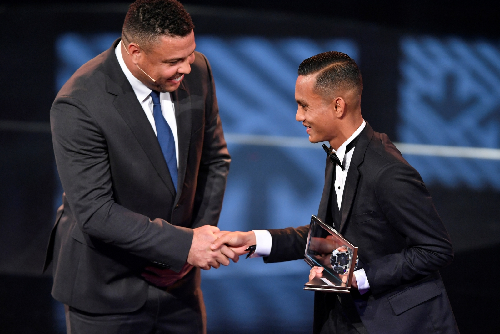 Ronaldo and Mohd Faiz Subri