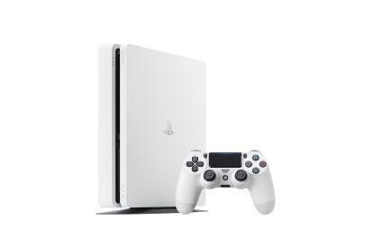 PS4 Slim Glacier White