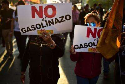 Mexico fuel prices