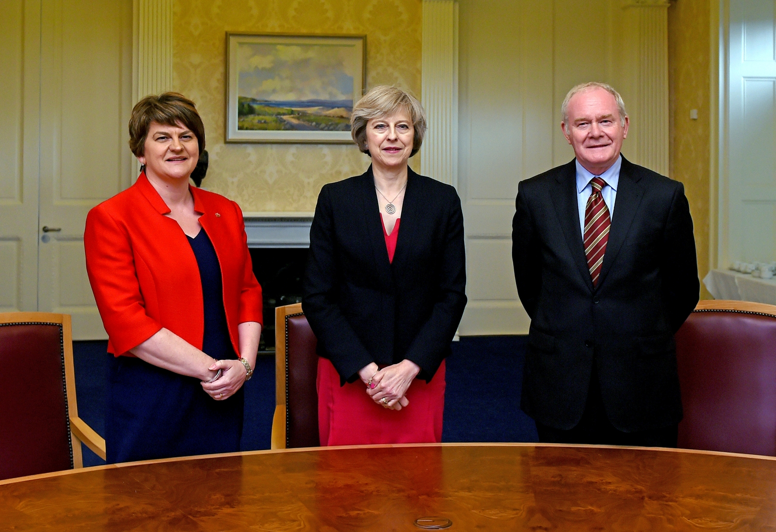 Foster, May, McGuinness