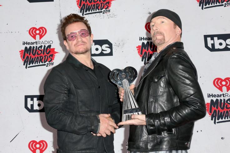 U2's Bono and The Edge