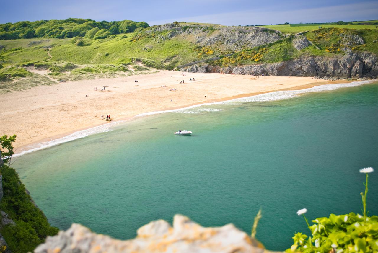Barafundle Bay Wales