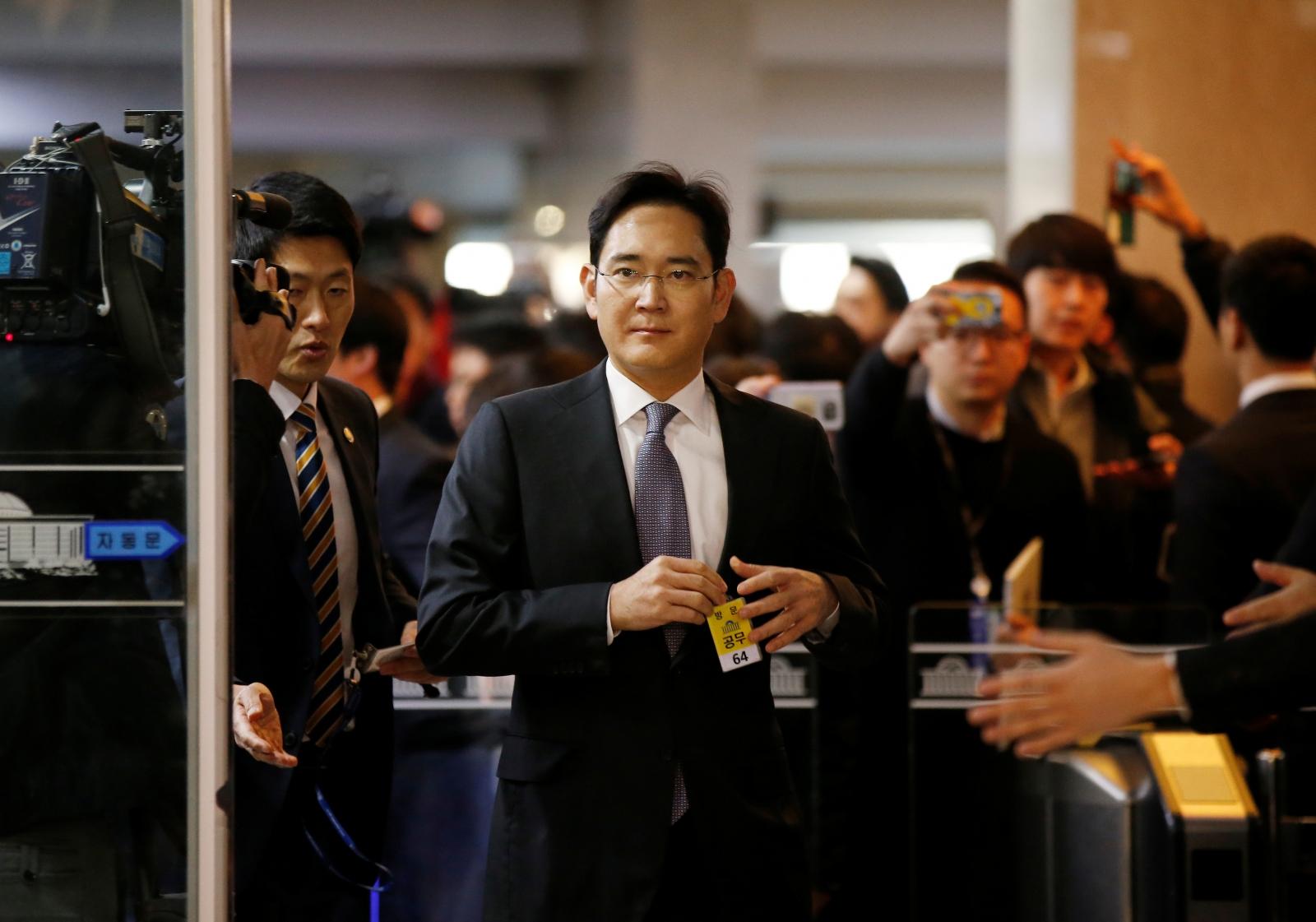 Samsung Electronics vice chairman
