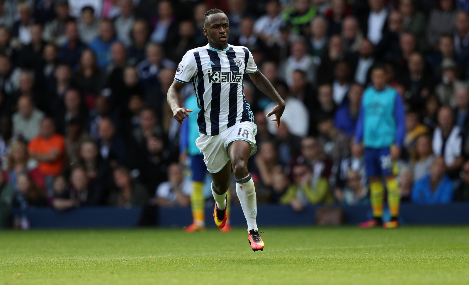 Saido Berahino; Stoke manager Mark Hughes 'hopeful' of signing striker