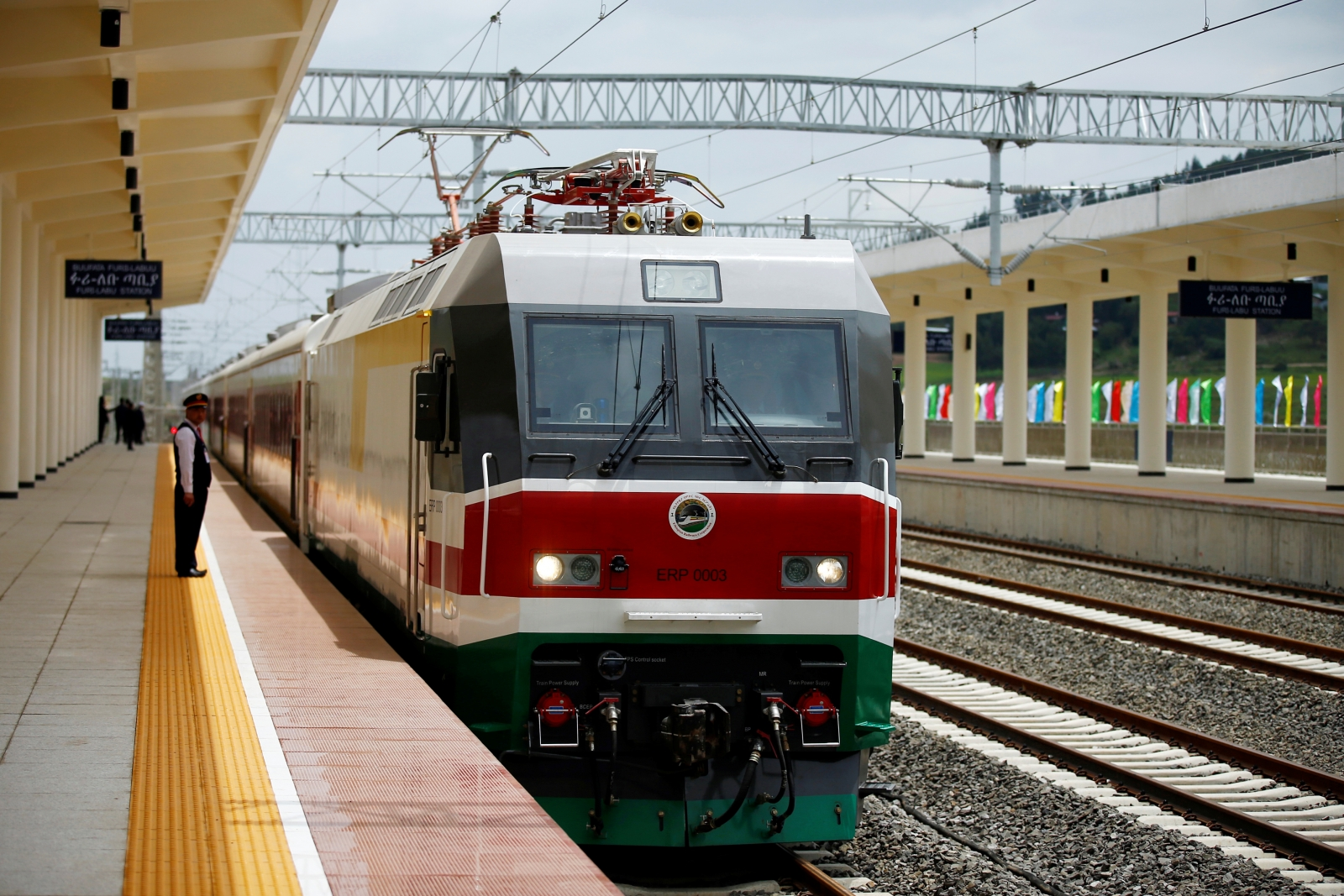 Africa train network