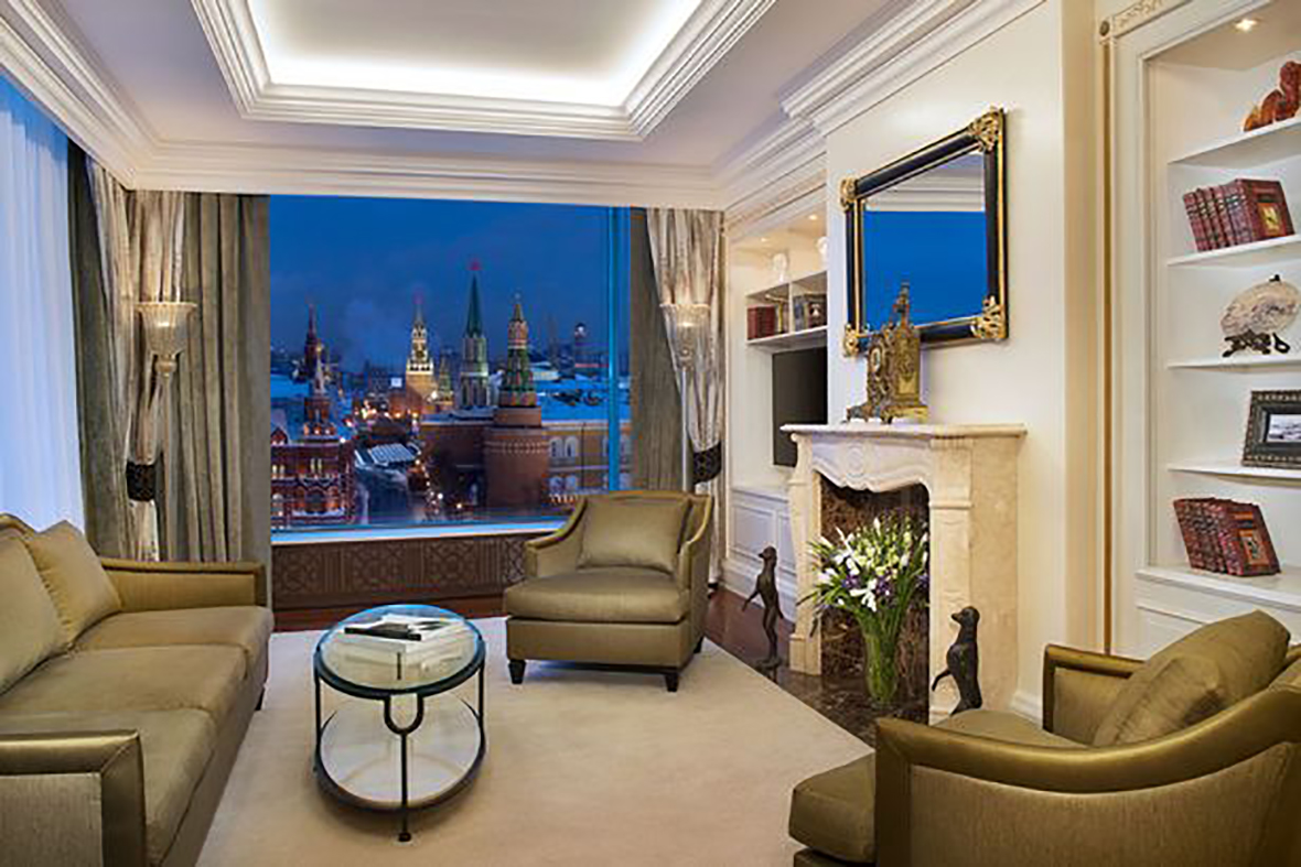 Ritz Carlton Suite, Moscow