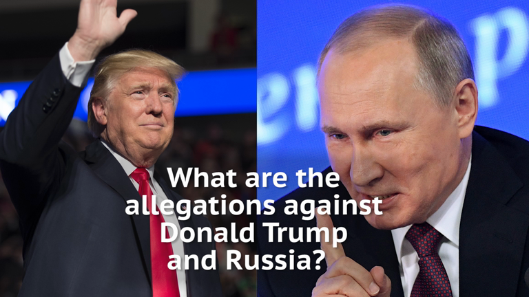 DO NOT PUBLISH What are the unverified allegations against Donald Trump and Russia?