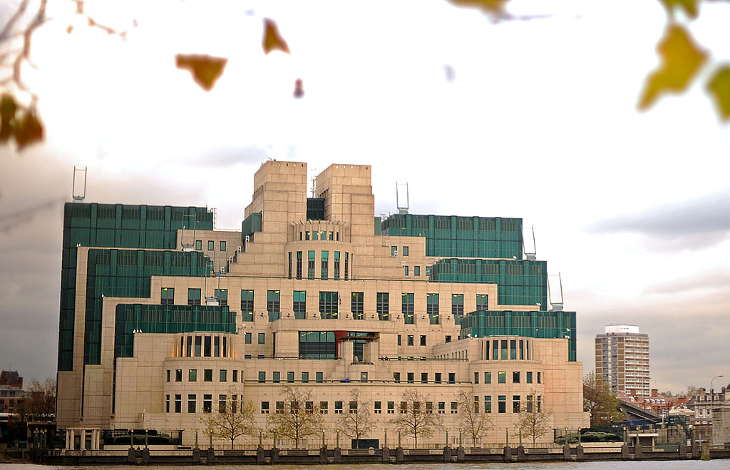 The MI6 headquarters in London