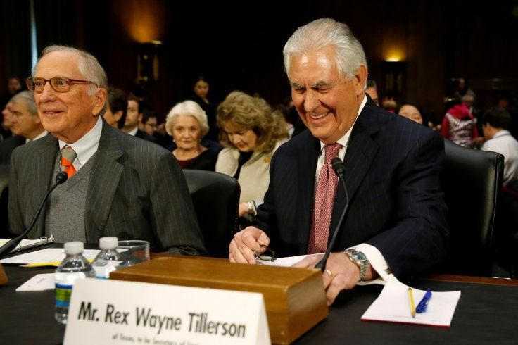 USA-CONGRESS/TILLERSON