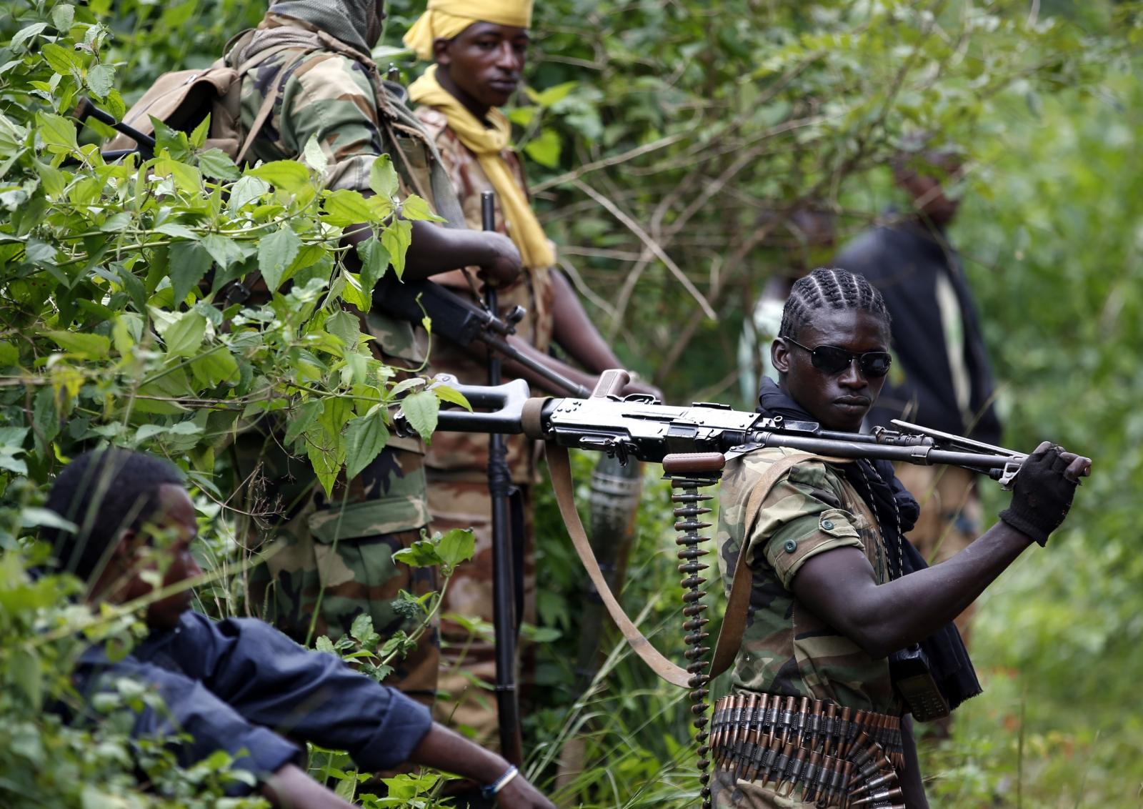 Seleka fighter in CAR