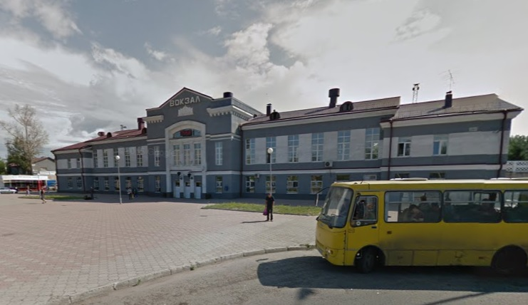 Angarsk Russia train station