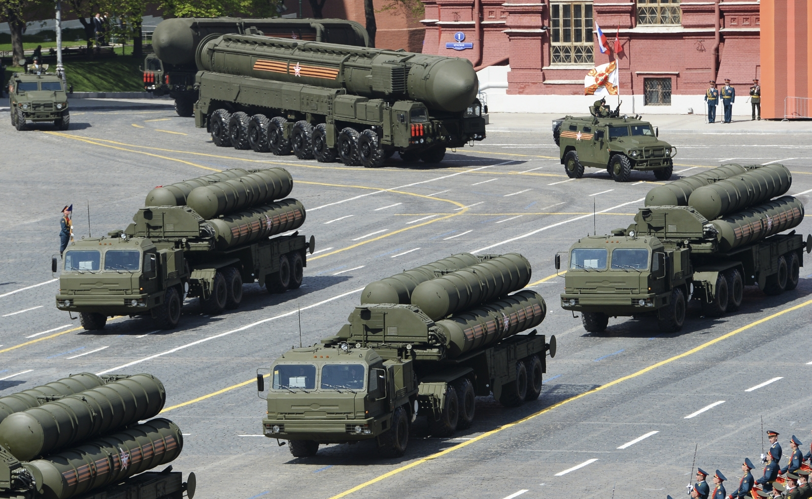 Russia surface-to-missiles