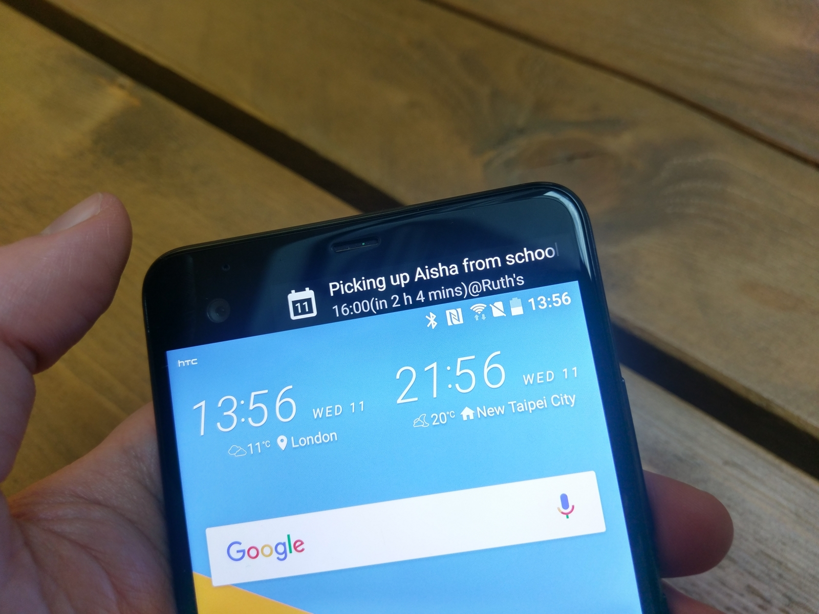 HTC U Ultra Dual Display