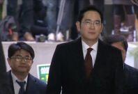 Samsung Group leader Jay Y. Lee