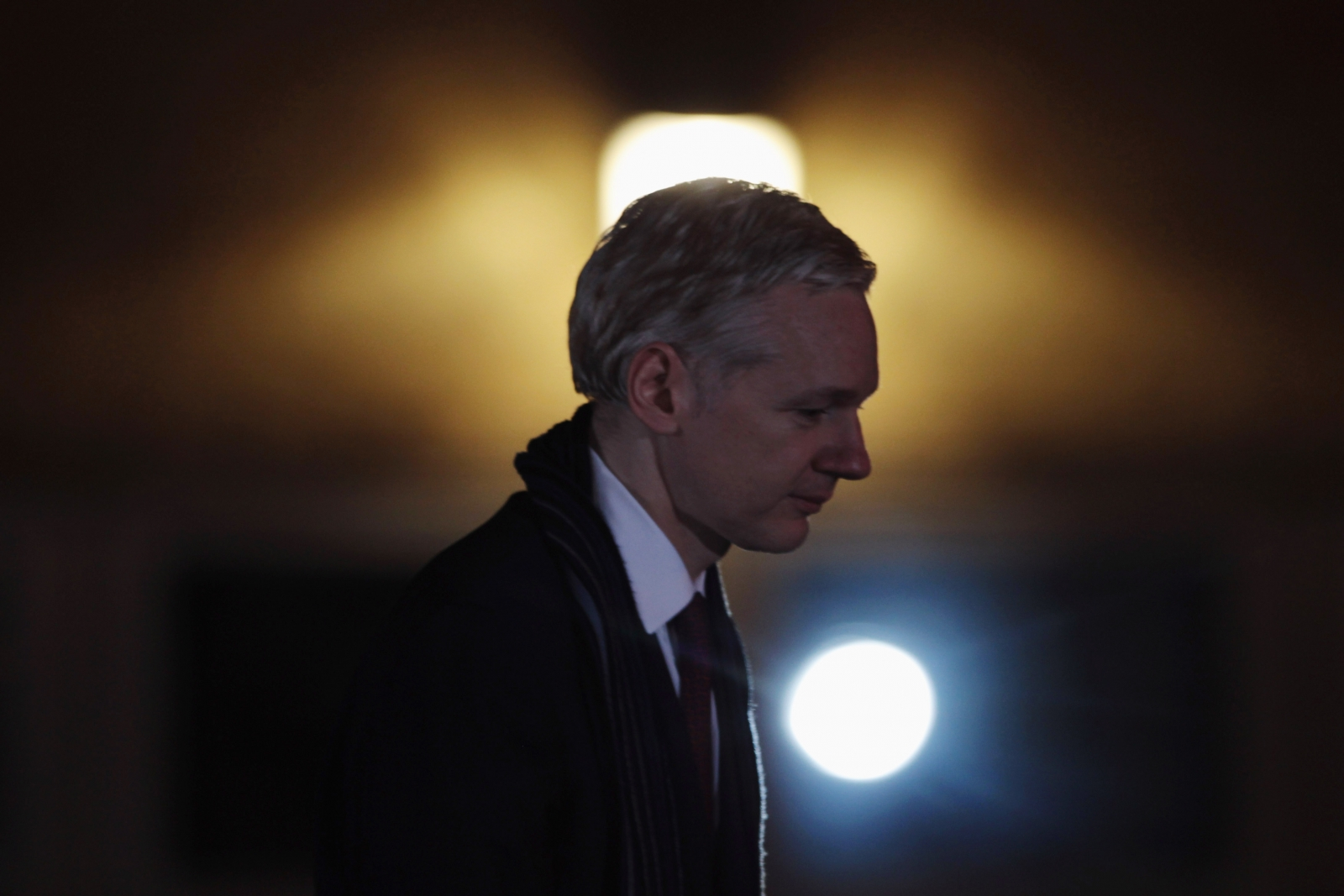Assange uses Bitcoin block as proof of life, says he hasn't 'seen the sunlight in the last four and half years'