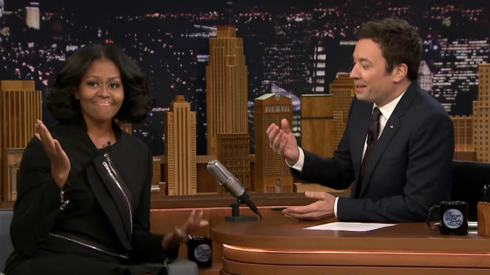 Michelle Obama on Fallon