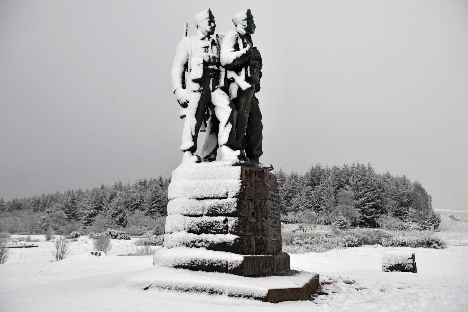 Snow britain