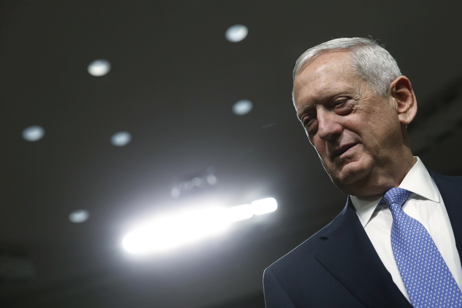 Retired Marine Corps Gen. James Mattis